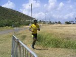 Male participant in 2004 St Kitts Triathlon
