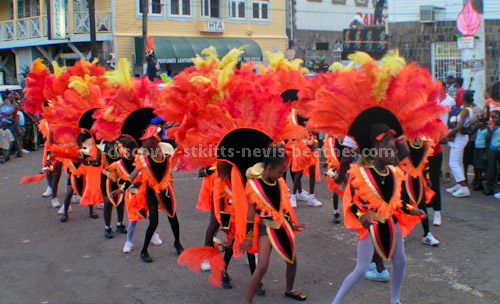 St Kitts Carnival Photo: Children's Carnival Troupe