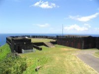 Photo of Prince of Wales Bastion at Brimstone Hill Fortress National Park in St. Kitts