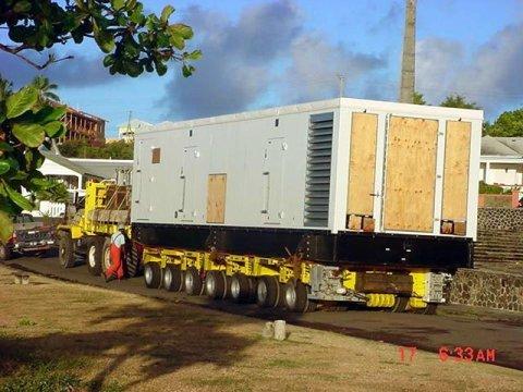 Generator for La Valle Golf Development, St Kitts