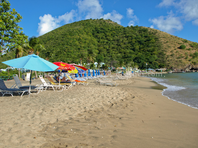 Beach at South Frigate Bay, St Kitts