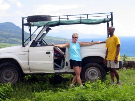 Royston Tours vehicle, St Kitts