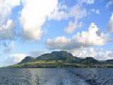 St Kitts from Sea