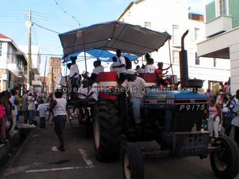 Click to see next image from the 2005 St Kitts Children Carnival Parade photo album