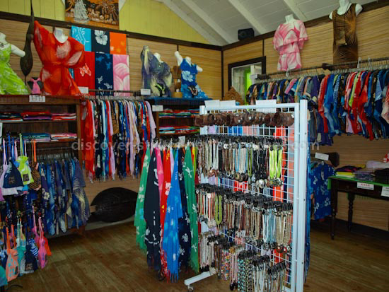 Caribelle Batik Shop ar Romney Manor, St. Kitts