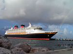 Photo 9:Disney Wonder and rainbow