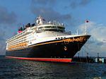 Photo 2: Disney Wonder cruise ship docking