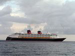 Photo 12: Disney Wonder cruise ship leaving Port Zante