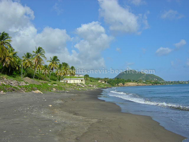 Eastern Section Of Beach at Pump Bay St Kitts