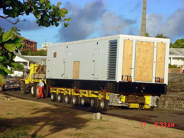 Generator for La Valle Golf Development, St Kitts
