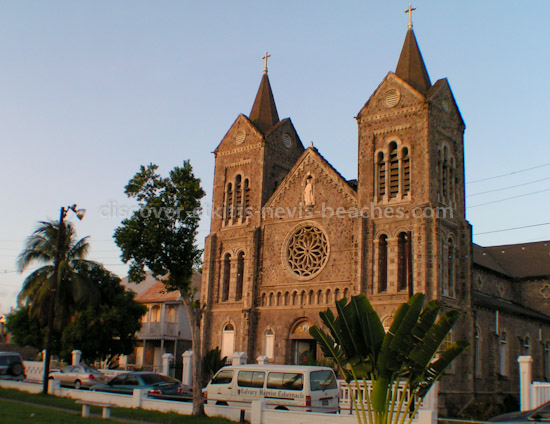 Photo of the Immaculate Conception Co-Cathedral in Basseterre, St. Kitts