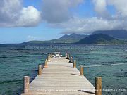 Photo 5: Jetty at Turtle Beach in St. Kitts