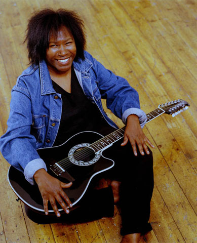 St. Kitts born Joan Armatrading, singer, songwriter and one of Britain's top female artistes.