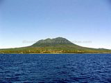 Nevis from sea