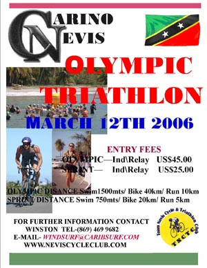 2006 Nevis Olympic Triathlon Flyer