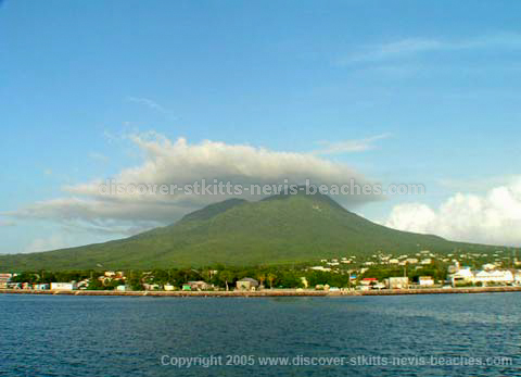 Nevis Peak from Sea