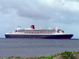 Queen Mary 2 at Port Zante