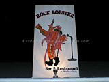 Rock Lobster restaurnt logo and sign