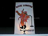 Rock Lobster restaurnt logo and sign