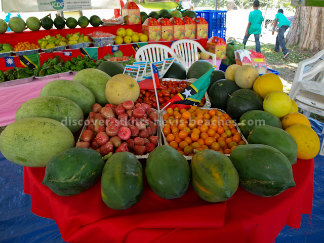 Fruits grown by the Taiwanese Agricultural Mission