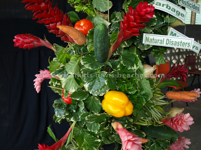 Flower arrangement display