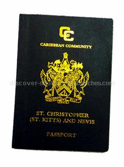 photo of St. Kitts and Nevis passport