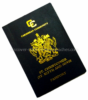 photo of St. Kitts and Nevis passport