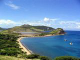 St Kitts beaches - White House Bay offers great snorkeling and small boat anchorage