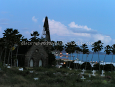 St Kitts heritage sites photos - Springfield Cemetery in Basseterre St Kitts