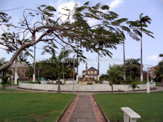 St Kitts heritage sites photos - Independence Square in downtown Basseterre St Kitts