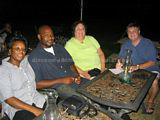 St Kitts and Nevis Travel Forum Members and Friends at Lodge Great house St. Kitts in August 2004