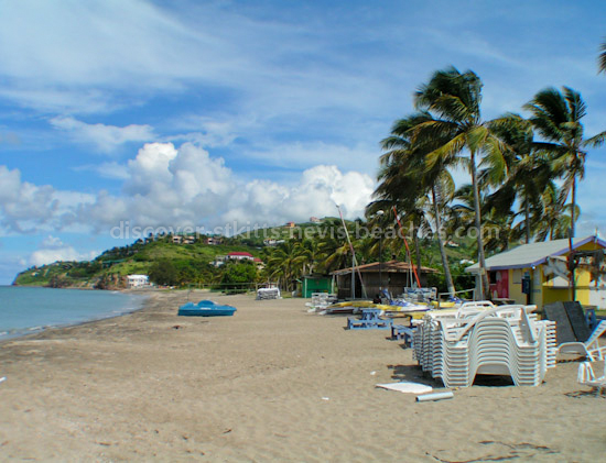 Photo of South Frigate Bay Beach in St. Kitts.