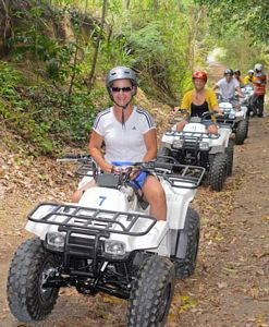St Kitts quad bike tour photo