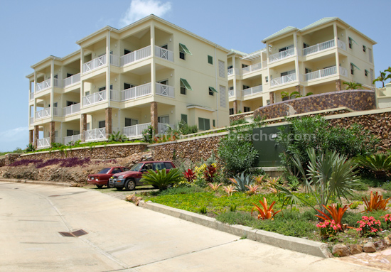 Condominium units in Frigate Bay, St Kitts Citizenship by Investment approved development.