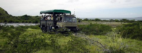 St Kitts Southeast Peninsula Safari 4X4 Ex-British Army Troop Truck photo