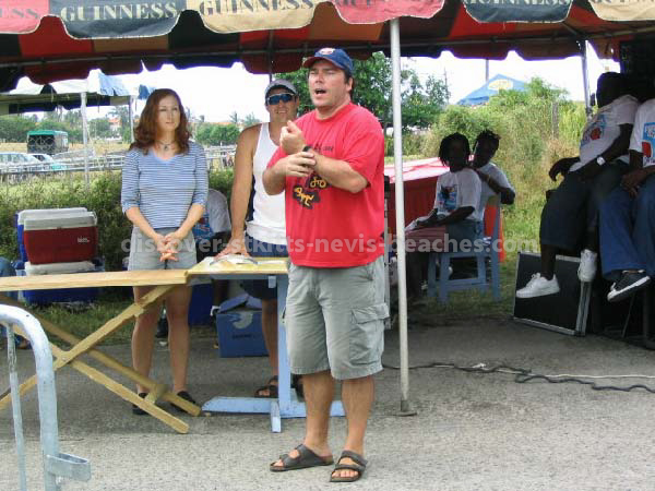 2004 St Kitts Triathlon Race Director, Charles Lovrics