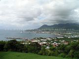 Photo 1: View of Basseterre from Bird Rock