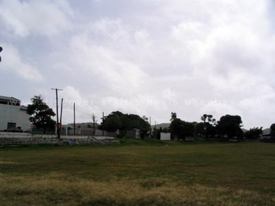 Old north-eastern section of Warner Park.  Presently the Media Center and north eastern mound are located in this area.