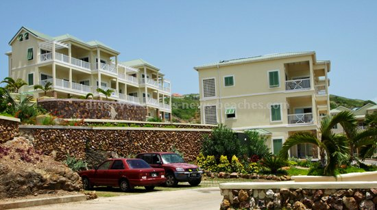 St Kitts and Nevis Citizenship by Investment Property: Luxury Condominiums in Frigate Bay, St. Kitts.