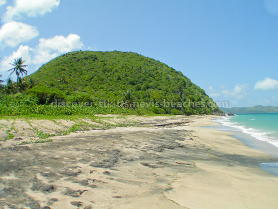 Photo of Lovers Beach in Nevis.