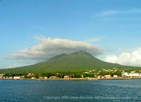 Nevis Peak from Sea