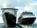 Photo 5: Queen Mary 2 and GTS Summit