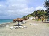 South Frigate Bay Beach, Frigate Bay, St Kitts, A Caribbean Coast Beach