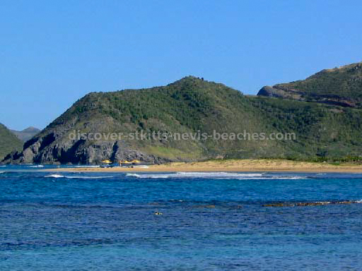 St Kitts beaches- North Frigate Bay, southern section