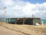 St Kitts beaches- Shipwreck bar and grill at South Friars Bay