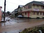 Photo 1: St. Kitts flash flood on October 19, 2006.