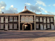 St Kitts heritage sites photos - Old Treasury Building / National Museum Building in Basseterre St Kitts