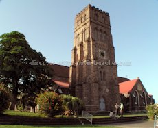 St Kitts heritage sites photos - St Georges Anglican Church in Basseterre St Kitts