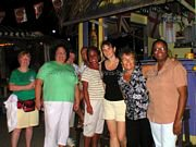 St Kitts and Nevis Travel Forum Members and Friends at Mr X Shiggidy Shack October 12, 2005