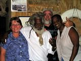 St Kitts and Nevis Travel Forum Members and Friends at Sprat Net in November 2004